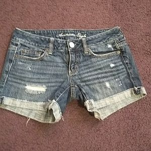 American eagle size 0 shorts